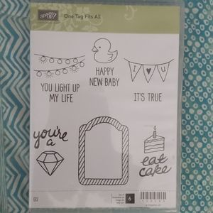 Stampin'Up! One Tag Fits All
